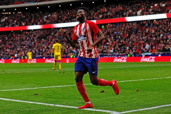 Thomas Partey was one of Atletico Madrid's standout performers last term