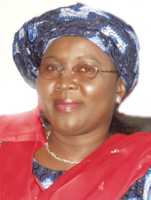 Hajia Alima Mahama, Minister for Local Government and Rural Development