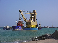 When completed, the project will expand the capacity of the port to handle 3.5 million TEUs.