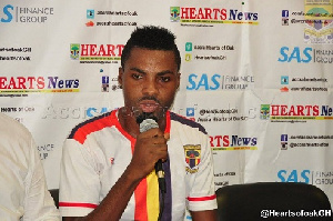 Kizito left Hearts in 2017