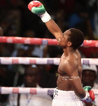 Isaac Dogboe is newly crowned WBO champion