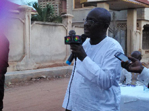 Jonny Osei Kofi, Parliamentary candidate for Oforikrom