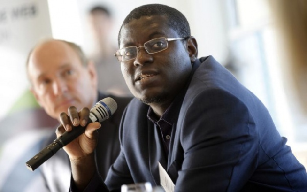 Bright Simons, Honourary Vice President of IMANI Ghana