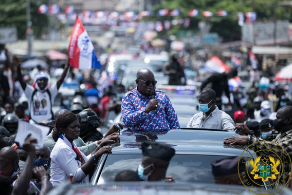 Akufo-Addo begins Central region tour today