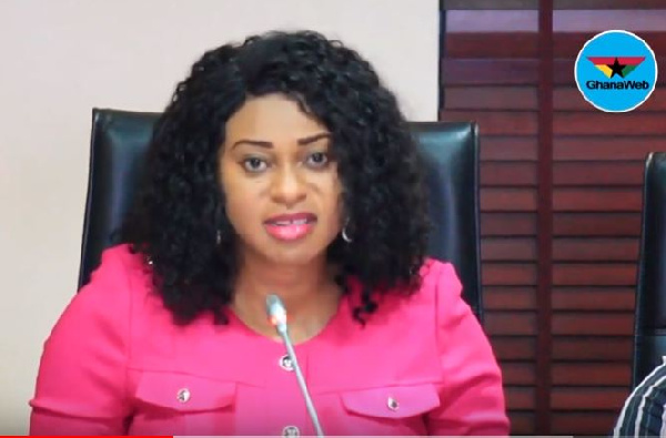 Minister of State in Charge of Procurement, Sarah Adwoa Safo
