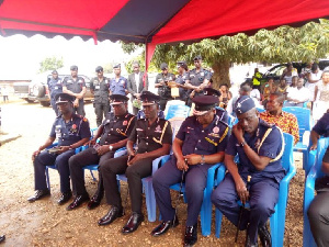 Acting IGP and other senior officers visited the widow on Wednesday