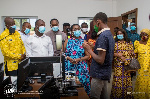 Ebenezer SHS gets Ghana's first multi-purpose library, ICT and robotics lab