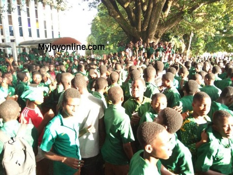 Some students of Prempeh College
