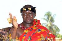 Life patron and owner of Asante Kotoko, Otumfuo Osei Tutu II.