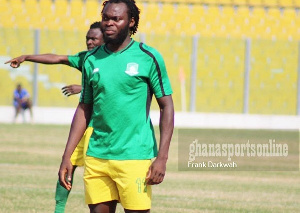 Aduana Stars striker, Yahaya Mohammed
