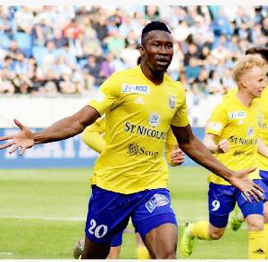 Ghanaian striker Sadam Sulley