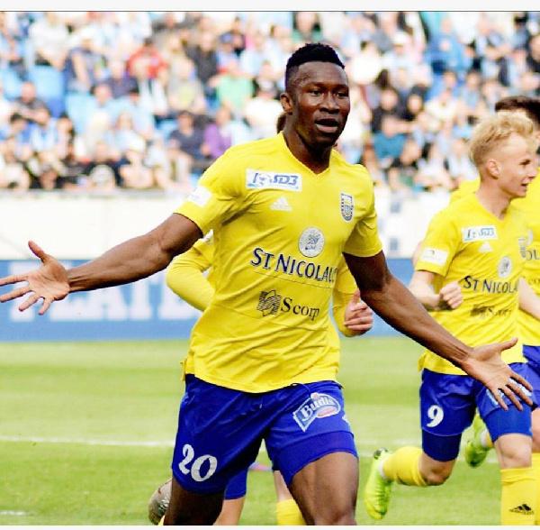 Top European clubs chase Ghanaian striker Sadam Sulley