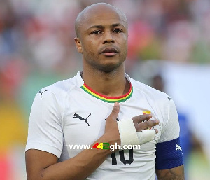 Newly appointed Black Stars captain, Andre Ayew