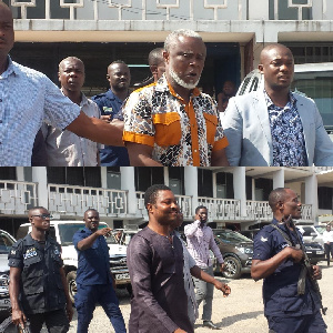 Dr Frederick Yao Mac-Palm and two others were charged with conspiracy to commit a crime