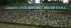 Ankaful Psychiatric Hospital in the Central Region.