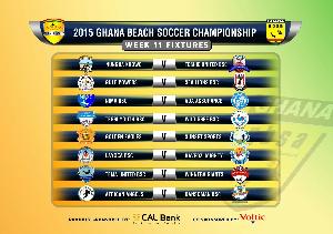 2015/2016 Cal Bank Beach Soccer Championship