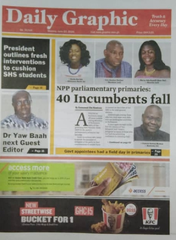 Some stories making headlines