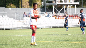 Former Ghana U17 attacker Eric Ayiah