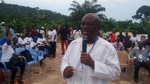 Paul Asare Ansah polled 539 votes to beat Kwame Adu Darkwa in the NPP primaries