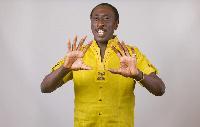 Ghanaian Comedian, Kweku Sintim Misa