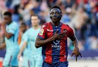 Emmanuel Boateng, Ghanaian striker