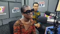Actress Fella Makafui