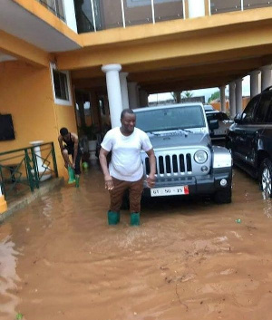Eight of his cars which were parked in the house at the time of the floods got inundated