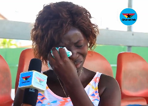 Hawa Asare lost her father in the May 9 disaster