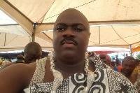 Togbe Kotoku XI, the Paramount Chief of Kpenoe