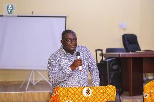 The Member of Parliament for Mpraeso Constituency, Davis Ansah Opoku