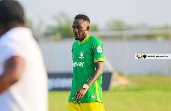 Aduana Stars defender Hafiz Adams bags MoTM in victory against Legon Cities FC