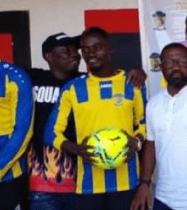 Lilwin signs two-year contract with New Edubiase