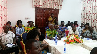 A cross-section of members of the Association of National Best Farmers