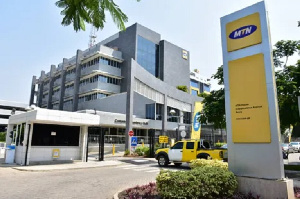 MTN Ghana's Head Office in Accra [File Photo]