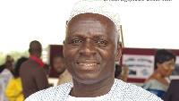 George Kuntu Blankson, former Member of Parliament (MP) for Ekumfi