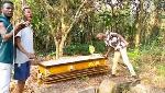 Coffin allegedly stolen by Sakawa boys found inside Apostolic Church cemetery