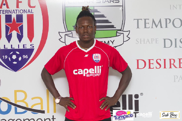 Ex-Kotoko forward Richard Arthur delighted to join Inter Allies