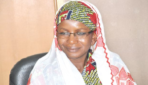 Hajia Hamdatu Ibrahim, Chairperson of the CPP.