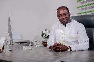 Kurt Okraku is seen as a strong contender in the GFA presidential race