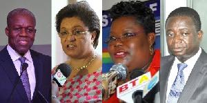 NDC Veep Candidates