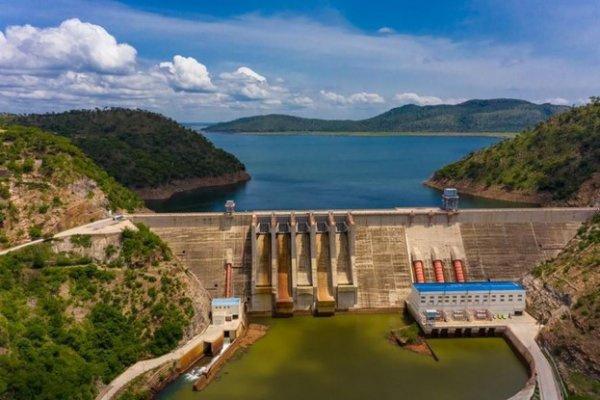 A shot of the Bui dam