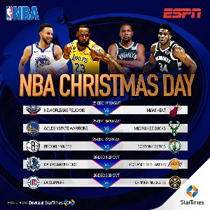 StarTimes will show the NBA