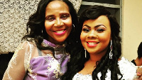 Gifty Osei and her mother