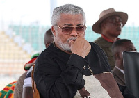 Founder of the NDC, Mr Jerry John Rawlings