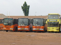 out of the 61 fleet of buses in the region, only 45 of them were on the road