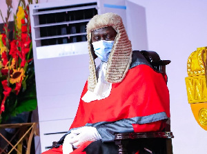 Justice Kwasi Anin-Yeboah, Chief Justice of Ghana