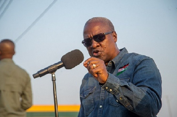 'Anyone who tells you I'll scrap free SHS is a bloody liar' – Mahama