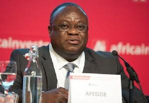 Mr Ekow Afedzie, Managing Director of the Ghana Stock Exchange