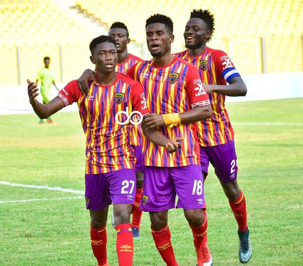 2020/2021 GPL: Hearts of Oak climb into top four after 2-0 win against Eleven Wonders