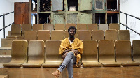 Ibrahim Mahama and the seats at the Whitworth art gallery in Manchester